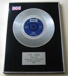 TOM JONES - DELILAH PLATINUM single presentation Disc